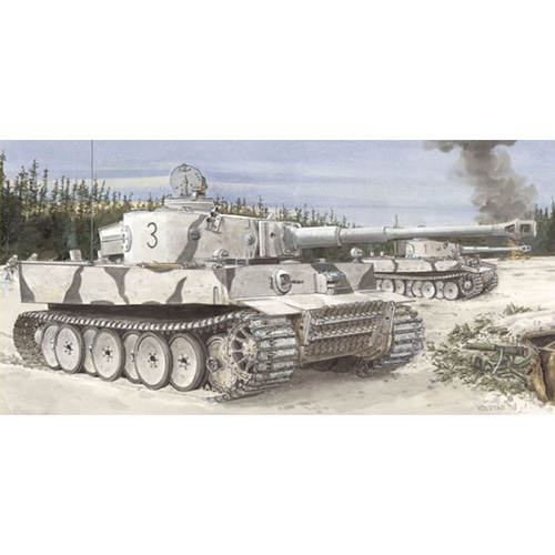 [BD6600] 1/35 Tiger I Initial Production s.Pz.Abt.502 Leningrad Region 1942/3