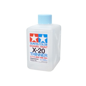[80040] X-20 Enamel Thinner 250ml