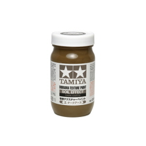 [87121] Text Paint Soil Dk. Earth 250ml