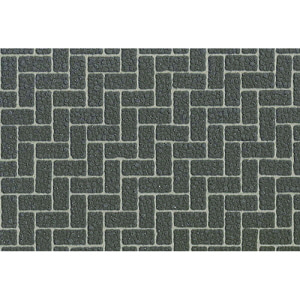 [87169] Diorama Sheet Gray Brick A