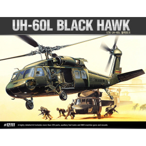 [ACA12111] 1/35 UH-60L BLACK HAWK 블랙호크