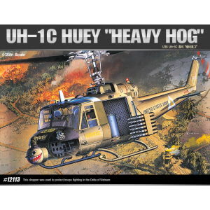 "[ACA12113] 1/35 UH-1C HUEY ""HEAVY HOG"" 휴이"