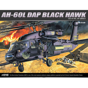 [ACA12115] 1/35 AH-60L DAP BLACK HAWK 블랙호크