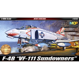 "[ACA12232] 1/48 F-4B ""VF-111 SUNDOWNERS"" 썬다우너스"
