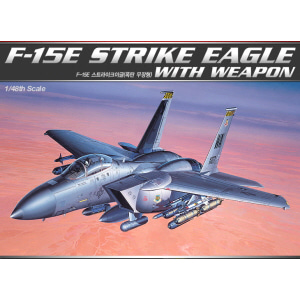 [ACA12264] 1/48 F-15E STRIKE EAGLE WITH WEAPON 스트라이크이글