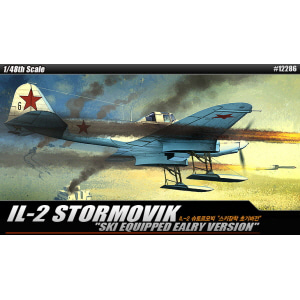 [ACA12286] 1/48 IL-2 With Skis STORMOVIX 슈토르모빅