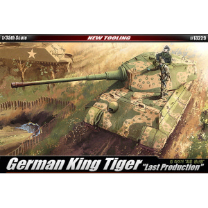 1/35 GERMAN KING TIGER LAST PRODUCTION 킹 타이거 최후 생산형