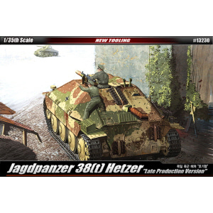 1/35 JAGDPANZER 38(t) HETZER LATE PRODUCTION Ver. 헤쳐