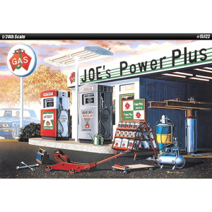 [ACA15122] 1/24 JOES POWER PLUS SERVICE STATION