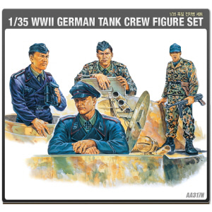 1/35 WW II GERMAN TANK CREW FIGURES SET 독일 전차병 [ACAAA317N]