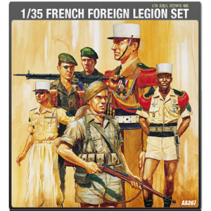 1/35 FRENCH FOREIGN LEGION SET 프랑스 외인부대 [ACAAA367]