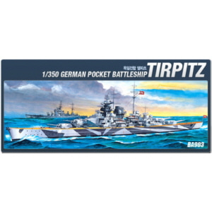 [ACABA903] 1/350 GERMAN BATTLE SHIP TIRPITZ 텔피츠
