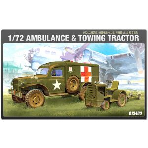 1/72 U.S.AMBULANCE&TOWTRUCK [ACAC13403]