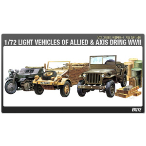 1/72 LIGHT VEHICLES OF ALLIED&AXIS DURING WWII [ACAFA172]