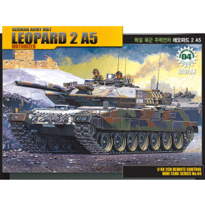 1/48 [04] GERMAN ARMY MAIN BATTLE TANK LEOPARD 2 A5 모터작동