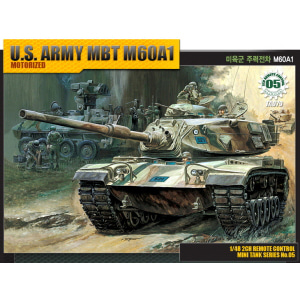 1/48 [05] U.S.ARMY MAIN BATTLE TANK M60A1 모터작동