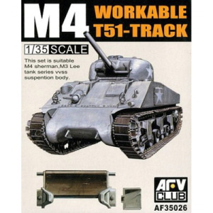 [BF35026] 1/35 M4 T-51 Workable Track For M3 Lee M3 Grant M4