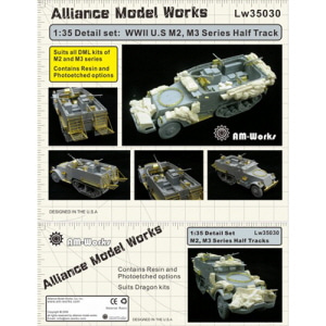 [LW35030] Detail set for M2/M3 series of halftracks