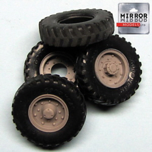 [MM35015] 1/35 Good Year 9.5x16 wheel set