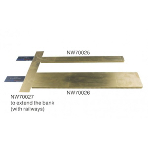 [NW70027] 1:700 Pier Extension For Extending Rails Beyond for Both 25 and 50 yard piers