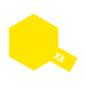 에나멜 X-08 Lemon Yellow