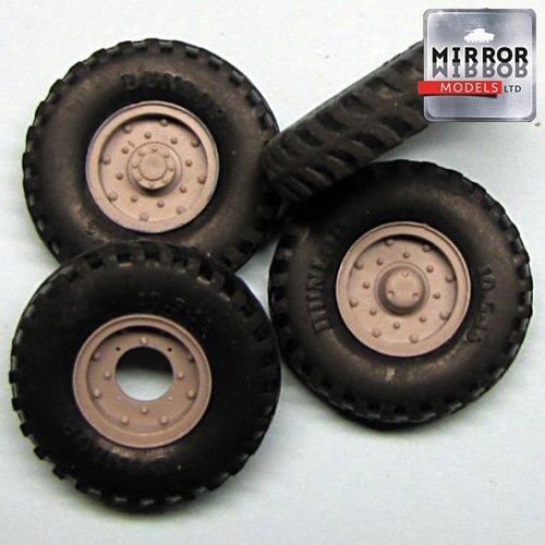 [MM35011] 1/35 Dunlop 10.5x16 wheel set