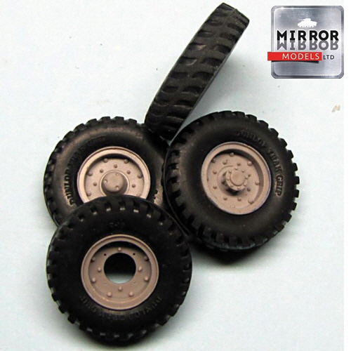 [MM35013] 1/35 Dunlop Trak Grip 9x16 wheel set
