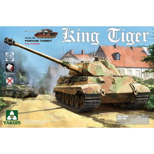 [BT2074S] 1/35 WWII Sd.Kfz.182 King Tiger Porsche without /Zimmerit