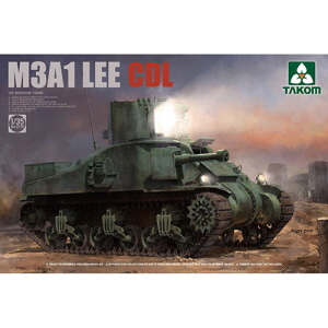 [BT2115] 1/35 US MEDIUM TANK M3A1 LEE CD