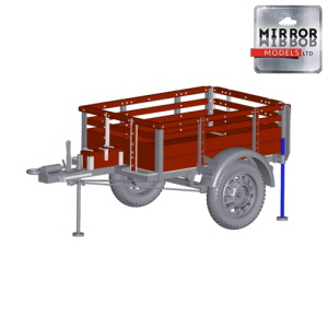 [MM35150] 1/35 10 cwt GS trailer