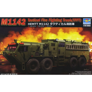 [TRU01067] 1/35 M1142 HEMTT TFFT Tactical Fire Fighting Truck